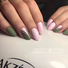 What Christmas manicure to choose for a festive mood - My Nails Green Nails, Blue Nails, My Nails, Green Nail Designs, Nail Designs Spring, Prom Nails, Wedding Nails, Nails 2018, Nail Manicure