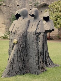 Cloister Conspiracy,bronze by Philip Jackson