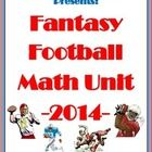 In the first round of this year's fantasy football draft, students choose...learning math and having fun!!!!!!  After playing fantasy sports for ov...