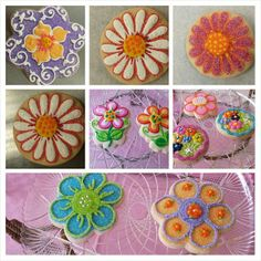 Spring Flowers - Cookies by Design, East Hanover, NJ