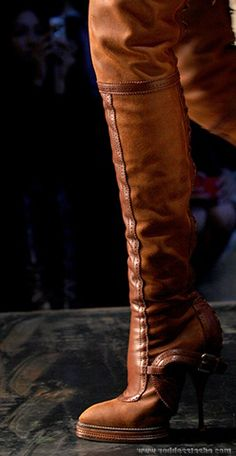 Luscious Brown Leather