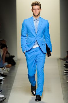 This baby blue suit!!!! WANT | Fashion trends 2015 | Pinterest