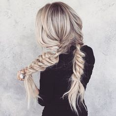✨ Whimsical ✨. Who\'s hair goals look a little like this?! #longhairgoals and braided prettiness via @hairby_chrissy . #weekendhaircrush #longhairdontcare #braidgame #braidgoals #hairinspo #maneenvy #manegoals