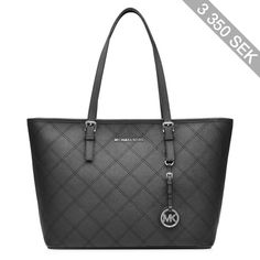 Michael Michael Kors Jet Set Medium Leather Tote