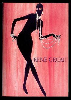 Rene Gruau - we all love catwoman