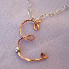 Hammered copper wire from DreamAcre Designs