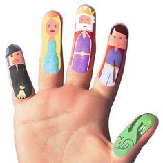 Finger Fairy Temporary Tattoos