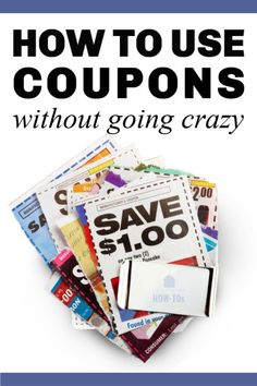 You don't need to be an extreme couponer to save a small fortune. These six essential tips to using coupons effectively will have you saving money in minutes. Couponing For Beginners, Coupon Organization, Going Crazy, Money Management, Money Tips, Being Used, Frugal, Saving Money, Coupons