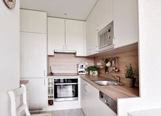 Condo Interior Design, Kitchen Storage Solutions, Living Room Kitchen, Home And Living, Home Kitchens, Sweet Home, Kitchen Cabinets, House Design, Home Decor