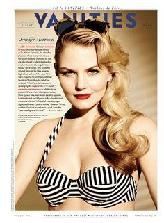 Jennifer Morrison (Beach, Please! | Vanity Fair)