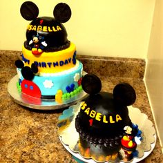 Mickey Mouse Clubhouse Cake Happy Birthday Isabella