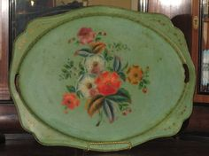 antique Russian tray