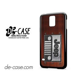 Embossed Steel Jeep DEAL-3932 Samsung Phonecase Cover For Samsung Galaxy S5 / S5 Mini