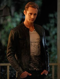 Alexander Skarsgard / True Blood / Eric Northman --- another photo I could stare at for hours