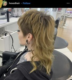 Mullet Haircut, Mullet Hairstyle, Hair Inspo, Hair Inspiration, Modern Mullet, Edgy Hair, Grunge Hair, Hair Today, Pretty Hairstyles