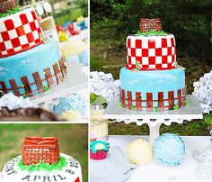 Southern Style Summer Picnic Cake
