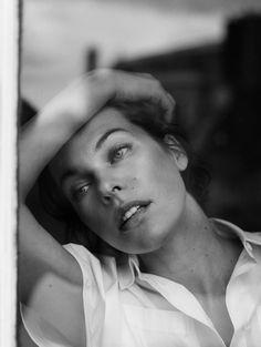 theglassbeadgame:  Milla Jovovichfor Annemarieke Van Drimmelen for The Edit, 2013