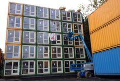 Shipping Container Campuses : Pop Brixton