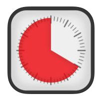 Time Timer - The Time Timer app displays time as a red disk that quietly gets smaller as time elapses. Children as young as three understand that when the red is gone, time is up!