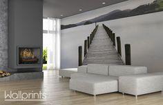 Maak het gezellig in huis met een rustgevende  foto als behang. Ons fotobehang wordt op maat van jouw wand gemaakt en is zelfklevend.