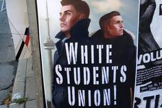"""http://globalnews.ca/ September 14, 2015 2:45 pm """"Ryerson University removing 'offensive' White Students Union signs on campus"""""""