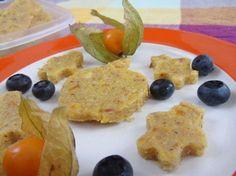 Veganes Babyrezept Apfel-Polentaschnitten auf babyspeck.at. Vegetarisches Polentarezept. Süßes Polentarezept ohne Zucker. Polenta für BLW-Anfänger.