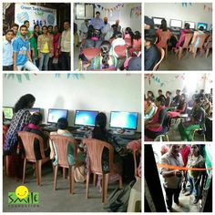 Smile Foundation's STeP programme enrols urban underprivileged youth and trains them in market oriented job skills such as computers, English language and communication, retail management, personality development and other relevant soft skills. These youth are then placed in reputed brands from the retail and service sector, thus getting a chance at what they have long deserved – a chance to come out of the vicious cycle of poverty and ignorance through a dignified and independent livelihood. Smile Foundation, Youth Employment, Step Program, English Language, Trains, Computers, Communication, Personality, Management