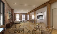 exposed wood beams. drop ceiling kitchen
