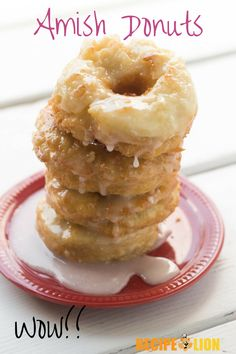 These light-as-a-feather Amish donuts are our new favorite weekend breakfast!