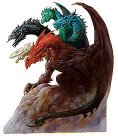 The god of evil dragons in the forgotten realms, you are a five headed terror with a head for each type of colored dragon. Description from smogon.com. I searched for this on bing.com/images