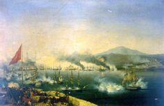 La batalla de Navarino fue una batalla naval librada en 1827, durante la Guerra de la Independencia griega, en Navarino (hoy Pilos). Combatieron las flotas otomana y egipcia contra las flotas combi...