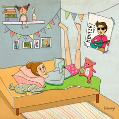 illustration Childrens Books, Cool Girl, Behance, Teen, Author, Illustrations, Graphic Design, Fictional Characters, Art