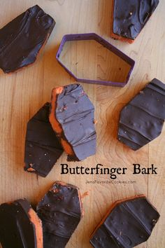 Butterfinger Bark from JensFavoriteCookies.com  - the texture is a little different, but the taste is surprisingly similar to Butterfinger candy bars!
