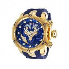 584cbd6c0c6d Invicta Men s 14465 Venom Analog Display Swiss Quartz Blue Watch Gents  Watches