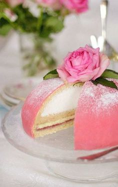 Swedish Princess Cake~even the royal love their sweets . Food Cakes, Cupcake Cakes, Pretty Cakes, Beautiful Cakes, Amazing Cakes, Torta Princess, Pink Princess, Princess Cake Swedish, Princess Birthday