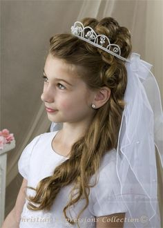 First Communion hair