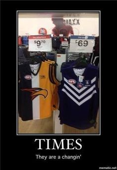 GOTTA LOVE THE DERBY - ANOTHER GREAT WIN FOR FREO - GO DOCKERS !!!