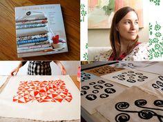 Textile printing with Lena Corwin