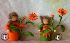 Blumenkinder-Werkstatt: Ringelblume, Calendula, Marigold