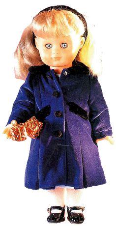 Mantel SM Puppen 40 cm