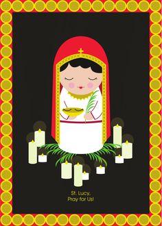 Saint Lucy Print