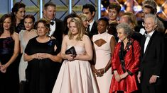 'The Handmaid's Tale' Takes Home Top Drama Prize At The 2017 Emmy Awards Alec Baldwin, Night Show, Big Night, Top Drama, Affordable Wedding Photography, Elisabeth Moss, The Emmys, Cinema, Big Little Lies