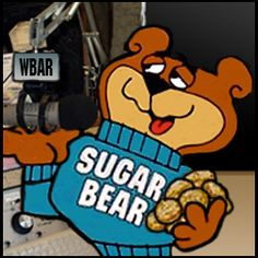 Sugar Bear - Sugar Smacks Cereal. (Ever notice how many of the old cereals had Sugar or Honey in the name?!)