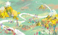 <3 Colorful illustration by Natasha Durley