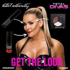 """Natalya from Total Divas Makeup: Get the Look  Get Natalya's beauty look with the """"Tattoo"""" Liquid Ink Liner, """"Tagger"""" Lip Graffiti Matte Lacquer and """"Gotta Have's"""" Totally Matte Eyeshadow Trio."""