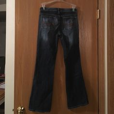 Squeeze jeans- light blue Squeeze jeans, boot cut, barely wore. Size 5/6, 99% cotton. Nice pair of jeans to short for me now. Jeans Boot Cut