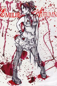 Emilie Autumn fan art.