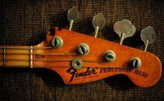fender precision bass headstock - Google Search
