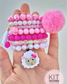 Little Girl Jewelry, Baby Jewelry, Kids Jewelry, Cute Jewelry, Kandi Bracelets, Bracelet Crafts, Beaded Bracelets, Baby Schmuck, Handmade Bracelets
