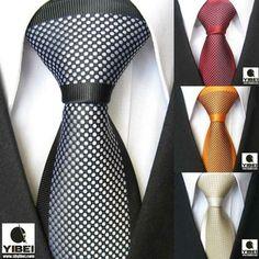 polka dot spot necktie